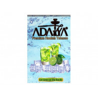 Табак для кальяна Adalya Ice Lime on the rocks (Ледяной Лайм) 50г