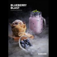Табак для кальяна Darkside SOFT Blueberry Blast (черника) 100 гр.