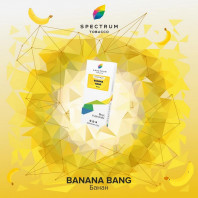 Табак для кальяна Spectrum - Bang Banana (Банан) 100г