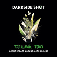 Табак для кальяна Darkside Shot - Таежный трип (Лемонграсс фейхоа эвкалипт) 30г
