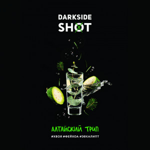Табак для кальяна Darkside Shot - Алтайский трип (Хвоя фейхоа эвкалипт) 120г